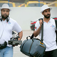 Professional camera crew  with experience to cover special event for news networks around the world.